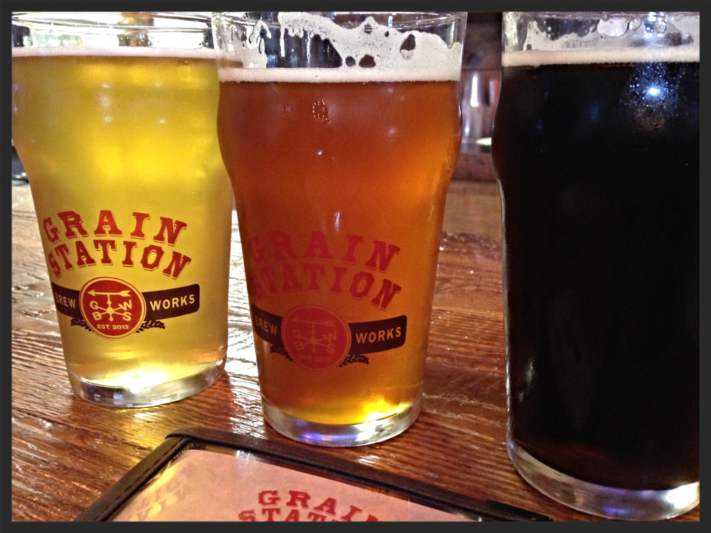 Beer at Grain Station Brew Works | FOODABLE WEBTV NETWORK