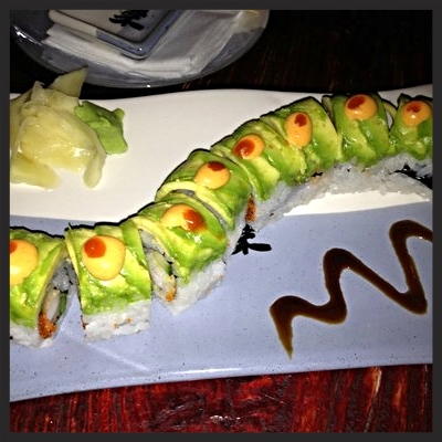 Caterpillar Maki at SUSHISAMBA  | YELP, Luke K.