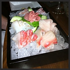 Sashimi tasting at barMASA | YELP, Virginia L.