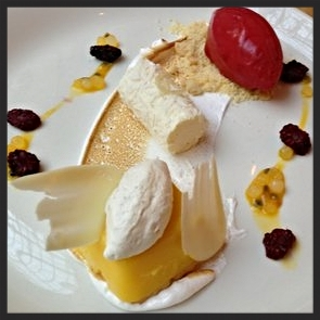 Lemon Custard at Range  | YELP, Craig H.