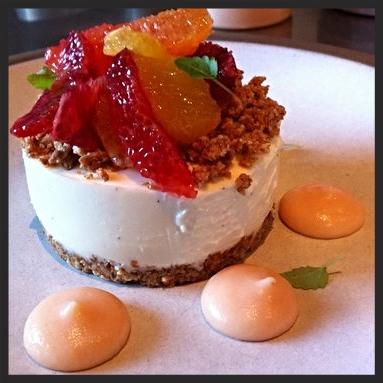 Yogurt Cheesecake at Picco  | YELP, Sophie C.