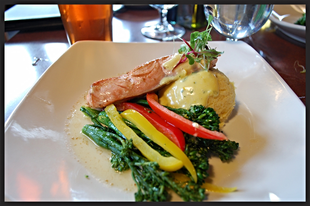Salmon dish from The Resurrection Roadhouse  | Foodable WebTV Network