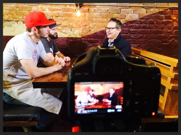 Host Paul Barron discusses with owners of the NOLA fast Casual Success, District Donuts. Sliders. Brew on Fast Casual Nation | Foodable WebTV Network