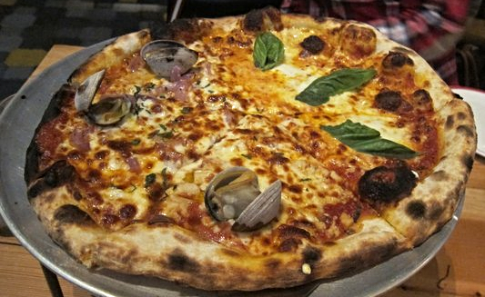 Pizza from Five50 Pizza Bar  | YELP, Michael U.