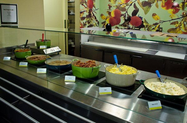 A portion of Lemonade's food options | YELP, Ed K.