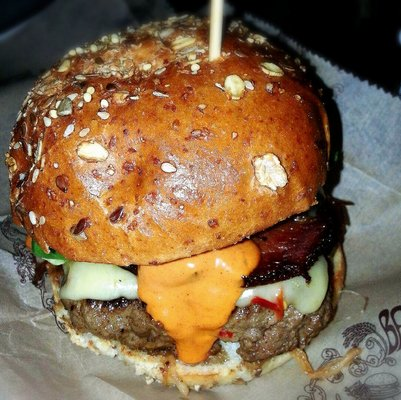 Bison Burger at Bareburger | YELP, Yvonne W.