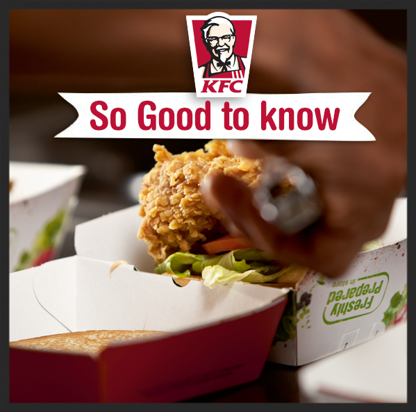 KFC Ad in South Africa  | Facebook, KFC South Africa