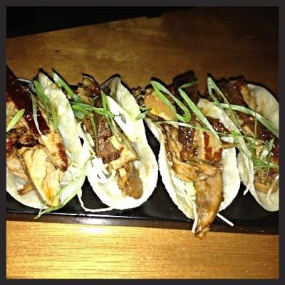 Peking duck with foie gras at barMASA | YELP, Eve C.