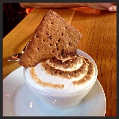 S'mores Pot de Crème at Euclid Hall Bar & Kitchen | YELP, Paul V.
