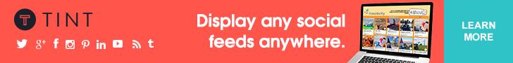 Tint - Display any social feed anywhere.