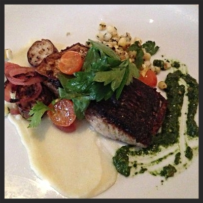 Seared Bluefish at Rialto  | YELP, Kimmy U.