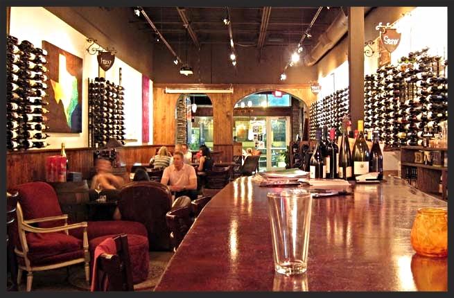 Interior setting of the Veritas wine bar| Veritas