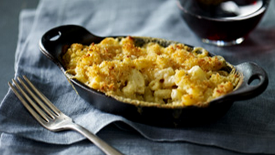Starbuck's Truffle Macaroni and Cheese on the new evening menu available in select markets | Starbucks