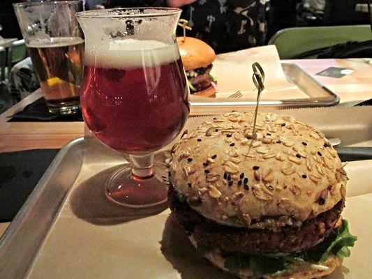 La Bandita- black bean veggie burger at Hopdoddy | YELP, Leah A.