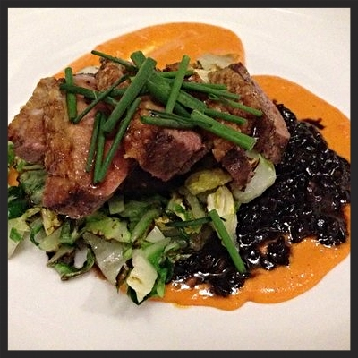 Oak smoked duck breast at Acorn  | YELP, Jesse H.