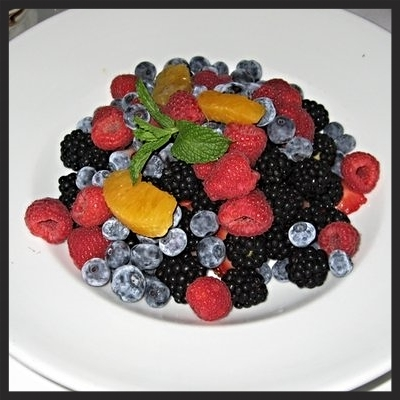 Fresh berries at Mastro's Steakhouse | Yelp, fifi l.