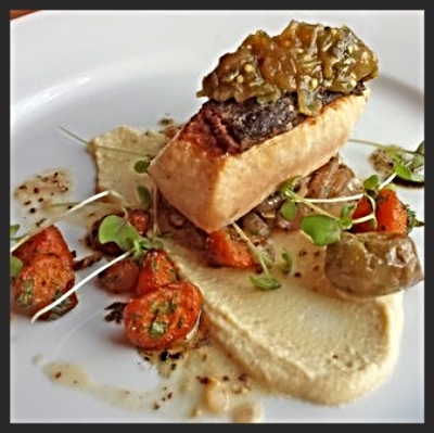 Marbled King Salmon from Art of The Table  | YELP, Anna L.