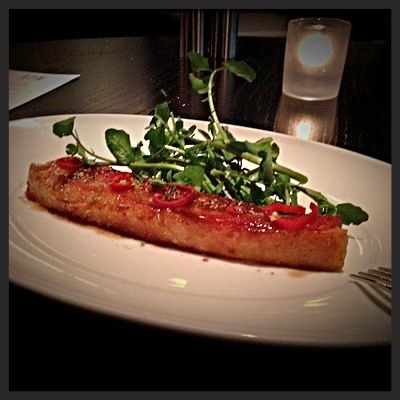 Bacon Appetizer at RPM Steak | YELP, Steve S.