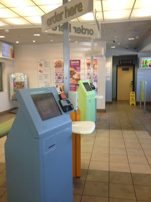 New Self Service Kiosks at a Illinois McDonald's  | YELP