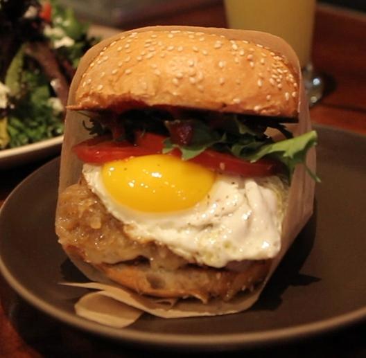 Burger from Roam Artisan | Foodable WebTV Network