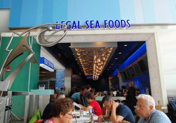 Legal Sea Foods at the Logan Airport  | YELP