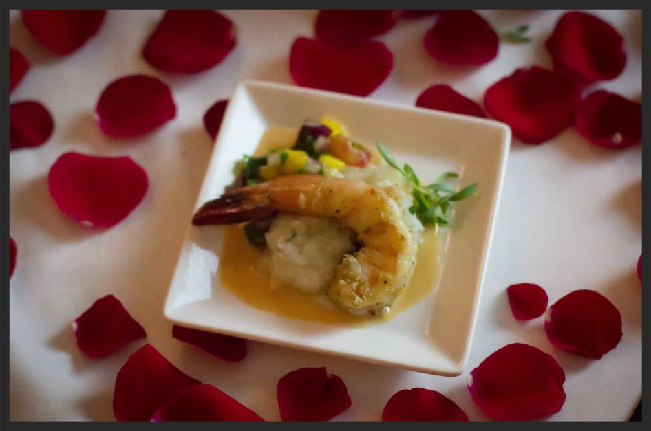 A dish from the 2014 Cotes du Coeur Gala event  | Facebook, Dallas American Heart Association