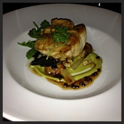 Monkfish from Fruition Restaurant | YELP, Nancy A.