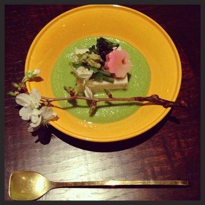 Sakura Tofu at Kajitsu  | YELP, Joshua J.