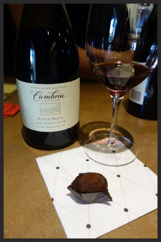 Pinot noir from Cambria Estate Winery and Chocolate Pairing  | Foodable WebTV Network