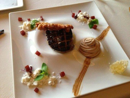 Foie Gras at Kai  | YELP, Mel Z.