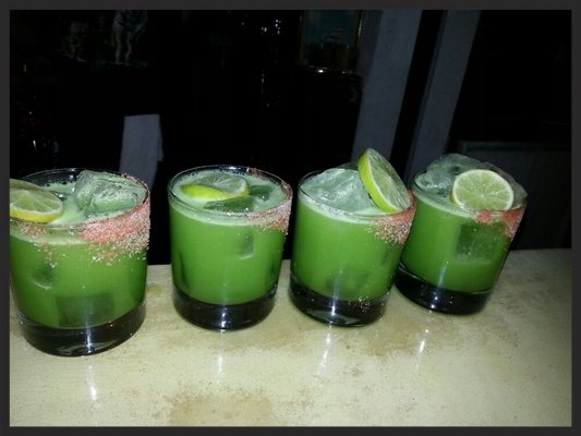 Kale Margarita at The Wayland | YELP, Elena, K