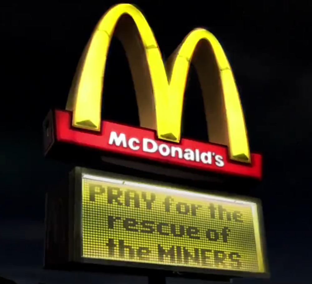 One of the images featured in the new McDonald's commercial  | McDonald's