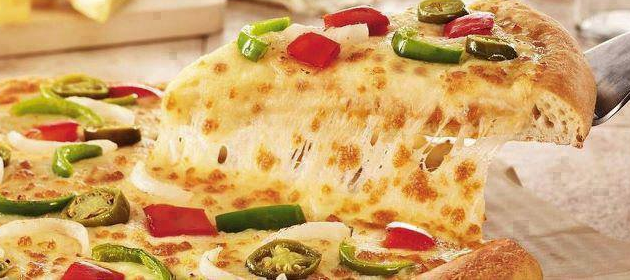 Domino's Cheese Burst pizza offered in India  | Facebook, Domino's Pizza India
