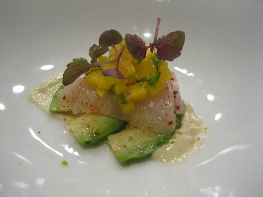 Hamachi salad at Craigie On Main in Cambridge  | YELP, Carol L.