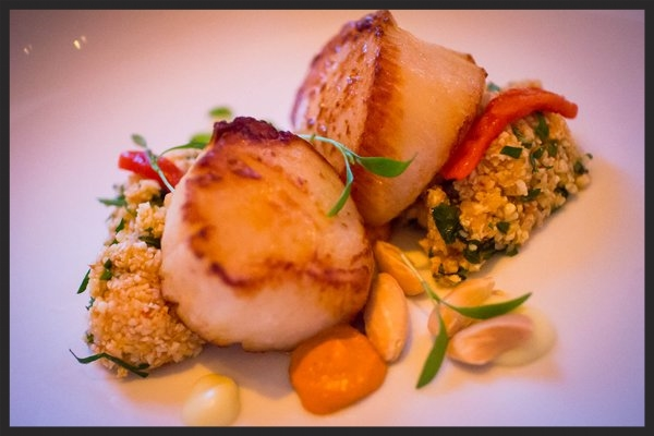 Scallop appetizer at Barclay Prime  | YELP, Elva L.