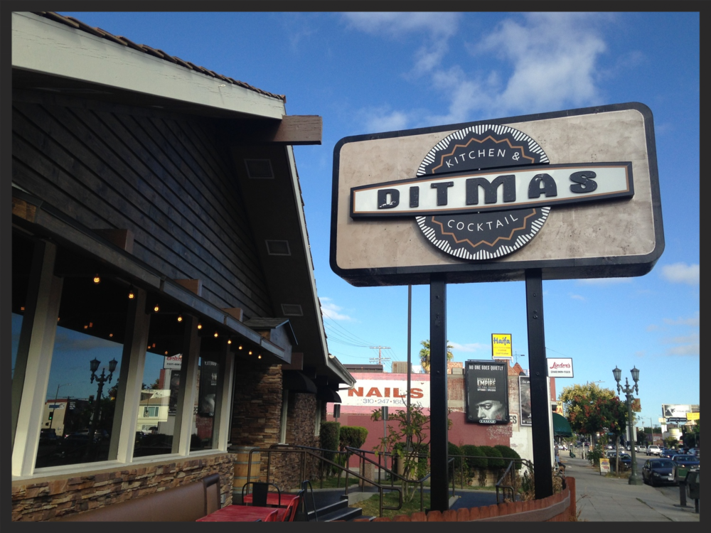 Store front of Ditmas  | Foodable WebTV Network