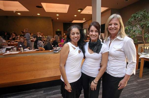 The three Women Behind the Food Lounge  | Jon Weiand, Santa Cruz Sentinel
