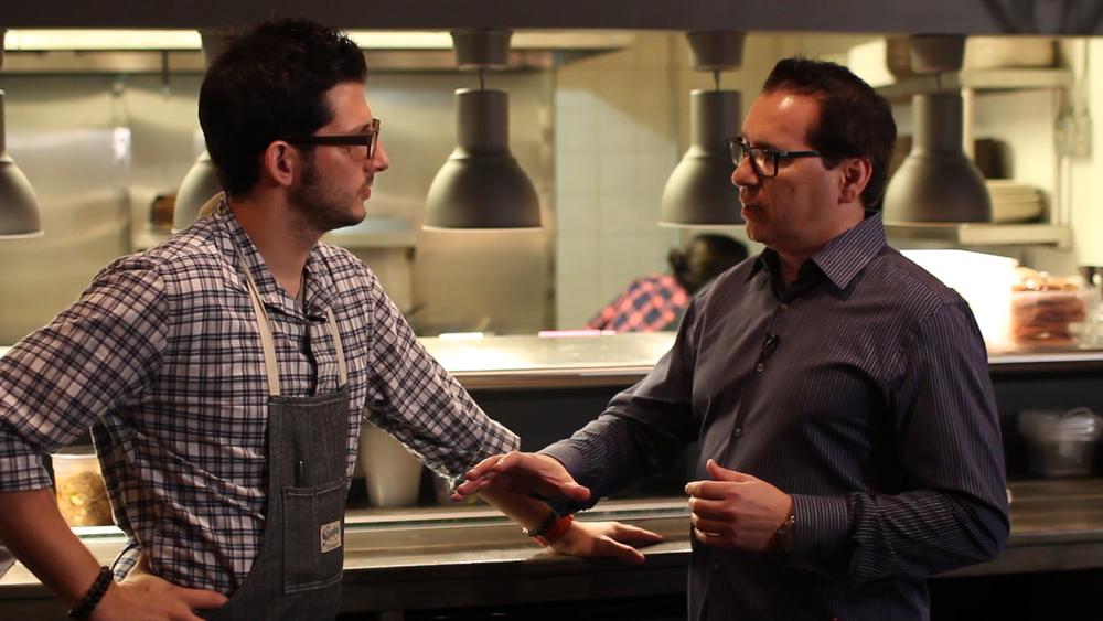 Foodable Founder, Paul Barron and Giorgio Rapicavoli of Eating House | Foodable WebTV Network