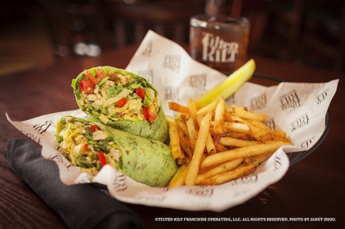 TILTED KILT SPINACH WRAP  | YELP, JANET Z.