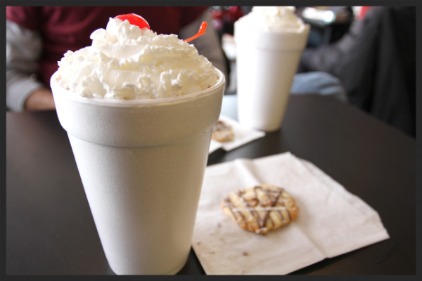 Milkshake from Leadbelly  | Foodable Network