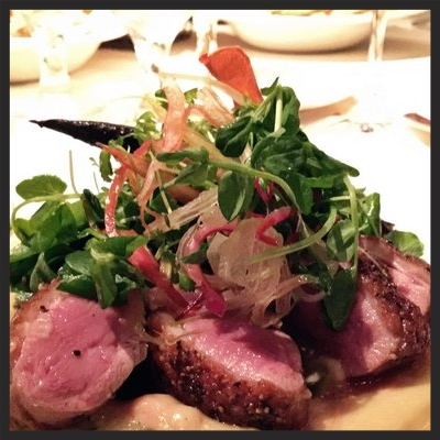 Duck breast at Abacus  | YELP, Kate C.