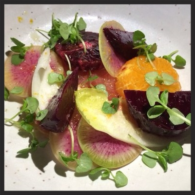 Beet Citrus Salad at Mamnoon | Yelp, Kathleen C.