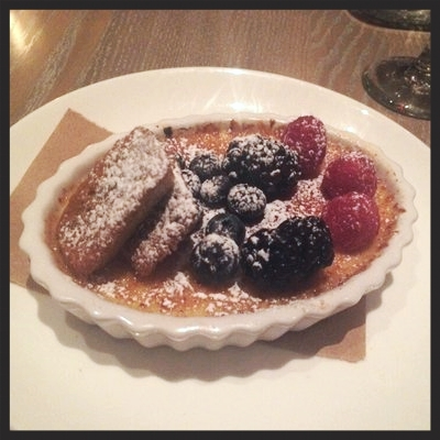 CREME BRÛLÉE AT BASTILLE KITCHEN | YELP, CAYLEE C.