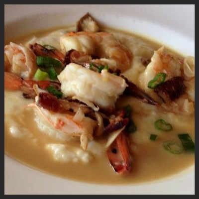 SHRIMP AND GRITS AT LE PETITE GROCERY  | YELP, ANGIE T.