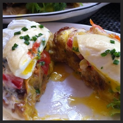 KIMCHI BENEDICT AT MICHAEL'S GENUINE FOOD & DRINK | YELP, KIMBERLY K.