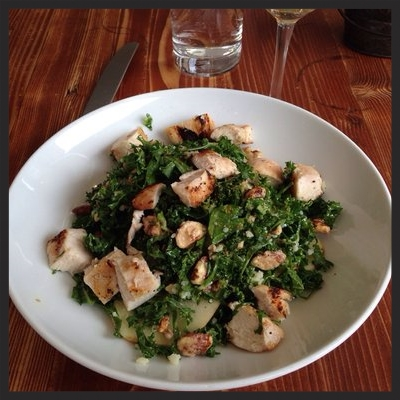 Apple and Kale Salad at OAK at Fourteenth | Yelp, Jen E.