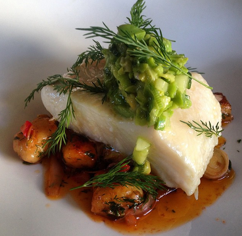 Halibut | Credit: Le Pigeon