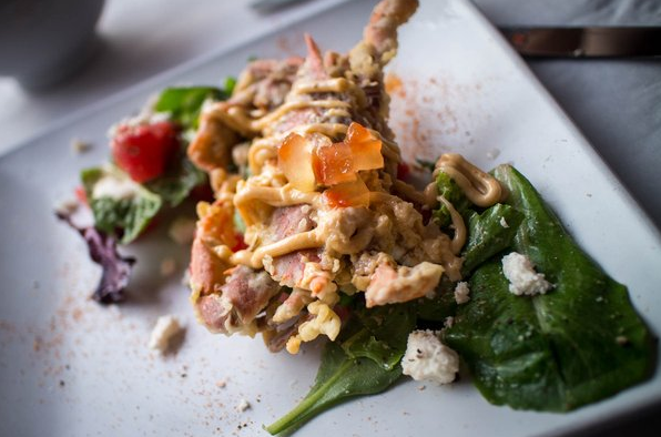 SOFTSHELL CRAB APPETIZER AT NOORD | YELP, Elva L.