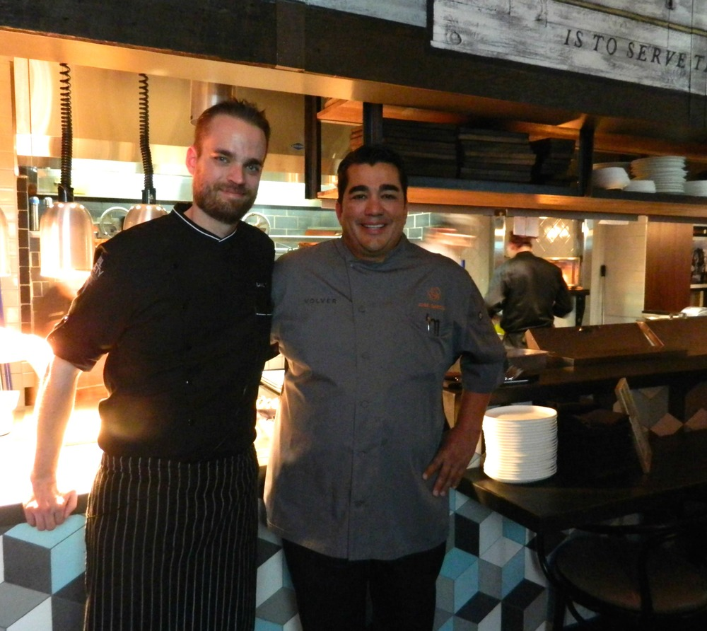 Chef Goral & Jose Garces  | Courtesy of Rural Society