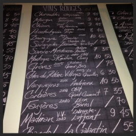 Le Caviste Wine List  | LM Archer TM